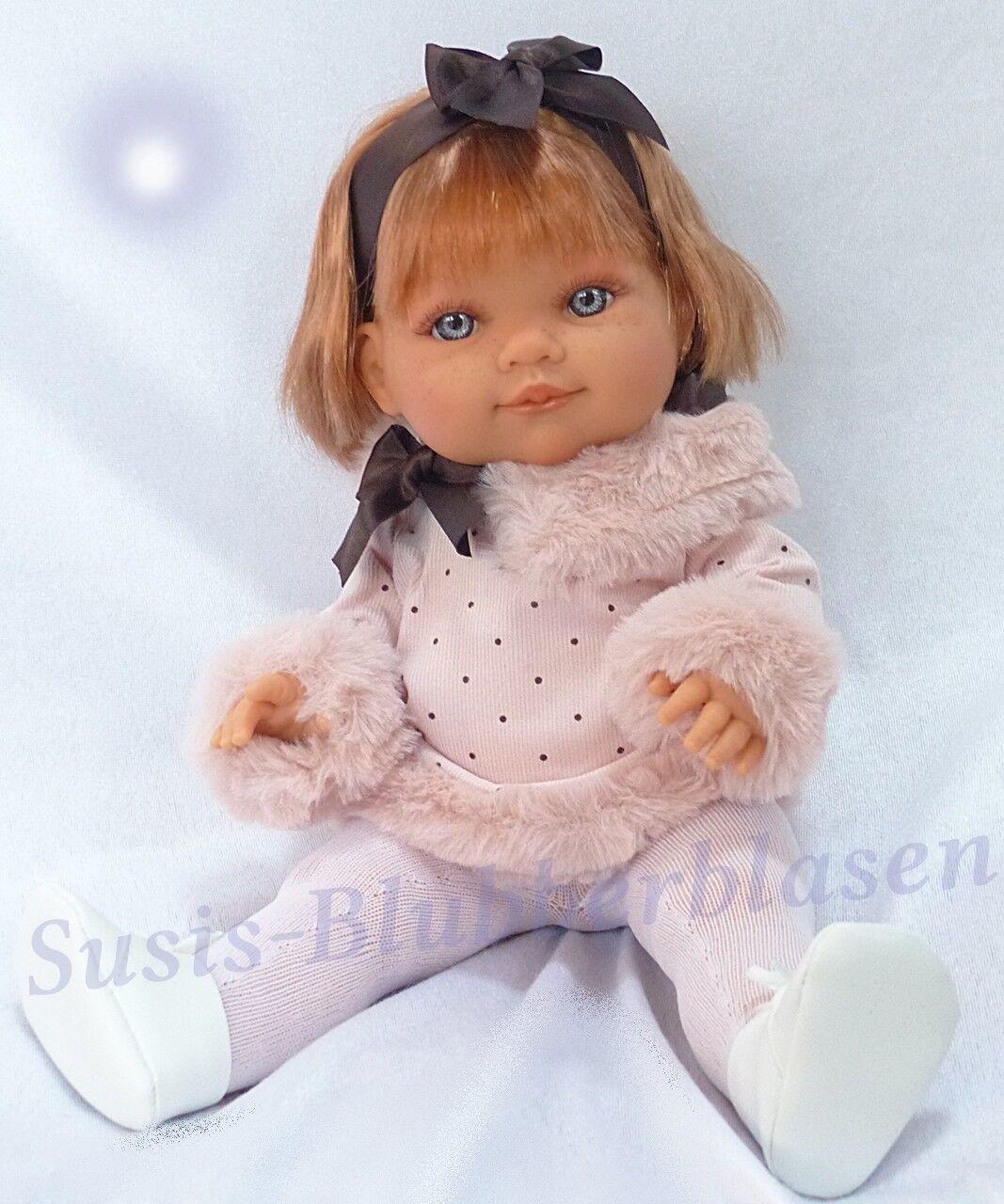 Antonio Juan Spielpuppe  Farita Lazo   38cm - Bezauberde Puppe mit Kunsthaar