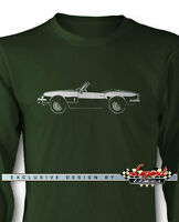Triumph Spitfire Mkiii Convertible Long Sleeves T-shirt Multiple Colors & Sizes