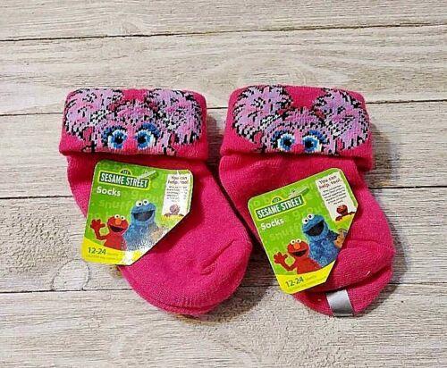 Abby Cadabby socks 2 pair Sesame Street sizes 12-24 or 24-36 months nwt