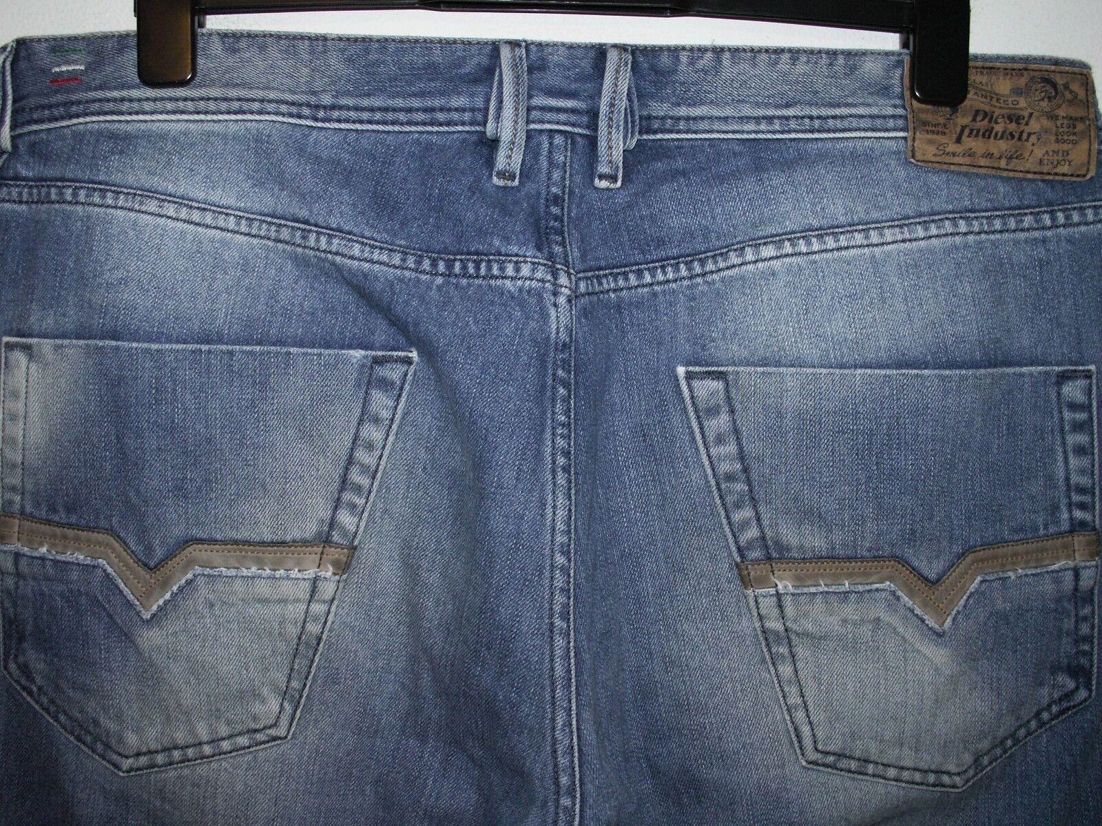 DIESEL zhavee avviocut Jeans 008XZ W36 L32 (5475)