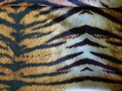 Dekostoff Trilobe Tiger Dschungel Stoff Faschingsstoff Nähen DIY 70000 129072613