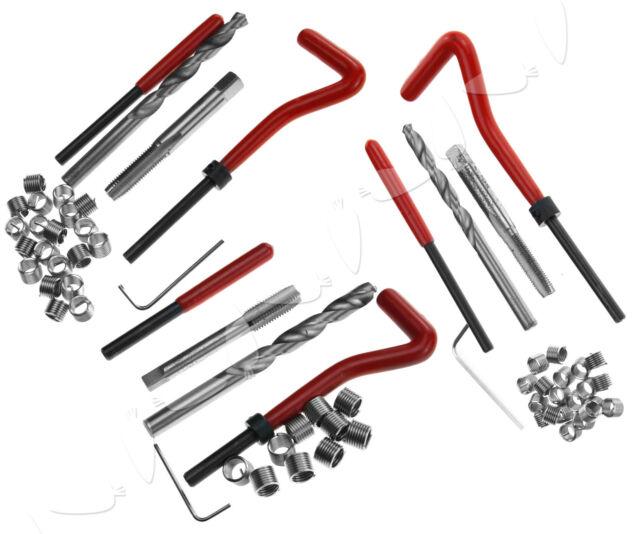 COMPATIBLE THREAD REPAIR WIRE INSERT KIT M6 X 1mm M8 X 1.25mm M10 X 1.5mm