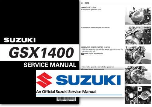 Suzuki GSX1400 Workshop Service Shop Manual GSX 1400 K1 K2 K3 K4 K5