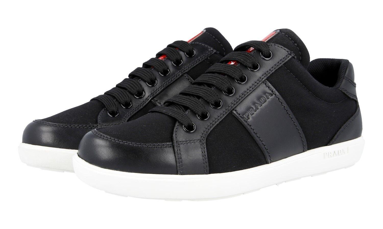 zapatos PRADA LUXUEUX 3E6184 negro BIANCO NOUVEAUX 36 36 36 36,5  conveniente