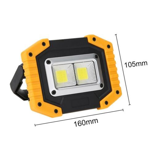 Outdoor Portable Rechargeable LED Work Light Waterproof Emergency Camping Lamp