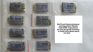 Mul-T-Lock Pinning kit rekeying set pins Locksmith Supply