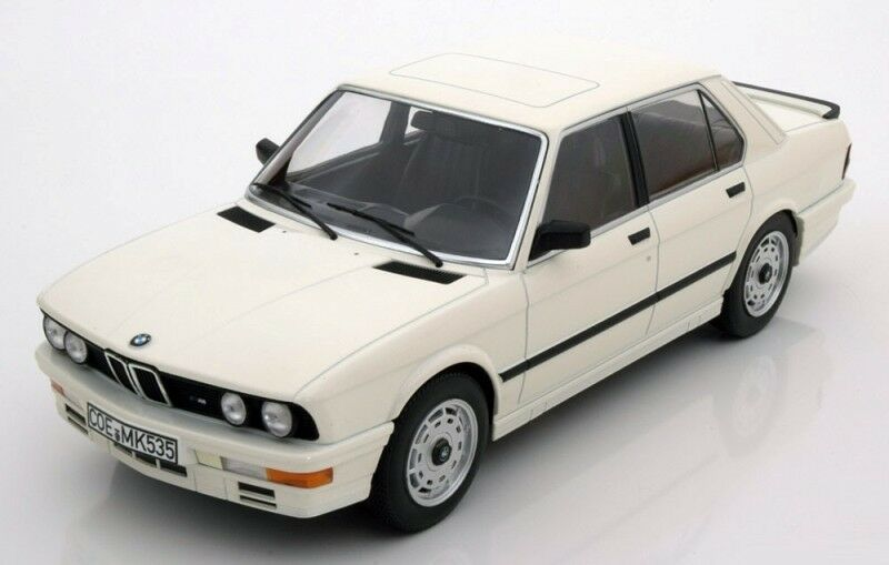 Norev 1986 BMW M535i (E28) Vit färg LE av 1000 i 1 18 Scale ny På lagret