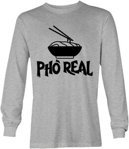Pho Real For Real Vietnamese Soup Rap Hip Hop Food Asian Mens T-Shirt
