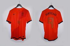 AUTHENTIC HOLLAND NETHERLAND 2012 EURO HUNTELAAR SMALL NIKE JERSEY SHIRT