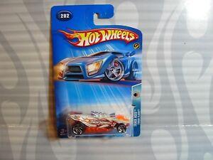 Modellbau Autos, Lkw & Busse 2004 Hot Wheels '' Track Aces '' # 202 = Turbo Flamme = Weiß Pr5,0715