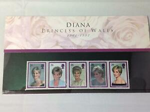 GB Princess 1997 Diana Stamp Presentation Pack