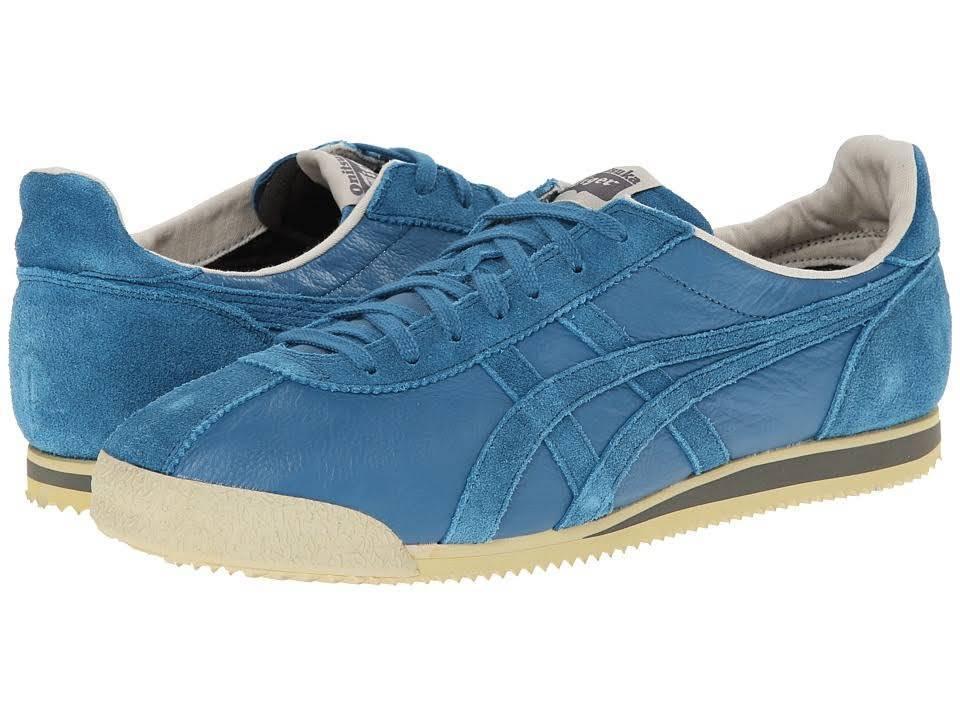 ONITSUKA TIGER DL300.5656 TIGER CORSAIR Mn' (M) Seaport estilo de vida Cuero Zapatos