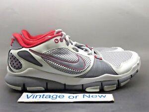 c0bf1b6cde04 Men s Nike Free TR Dark Grey Red Light Grey Training Shoes 395928 ...
