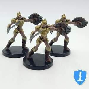 Draugr x3 Ruins of Lastwall #5 Pathfinder Battles D/&D Undead Miniature