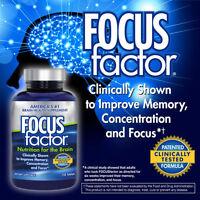 Focusfactor Brain Supplement 150 Pills, Support Memory, Concentration, Focus