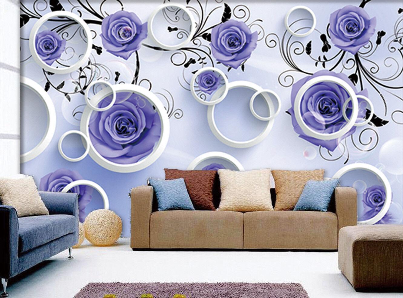 3D Blaue Rosa Zuhause 9873 Tapete Wandgemälde Tapeten Bild Familie DE Jenny   Lassen Sie unsere Produkte in die Welt gehen    Speichern   