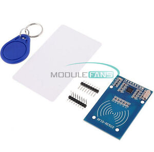 NEW RC522 Card Read Antenna RFID Reader IC Card Proximity Module UK