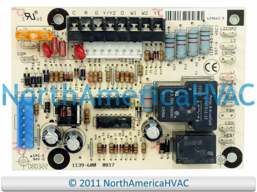 Original Equipment Manufacturer NORDYNE Gibson Miller Four Control Board 624663-0 624663