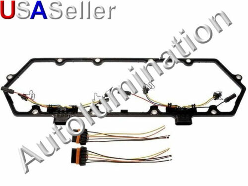 Powerstroke  7.3L Ford Valve Cover Gasket w//Fuel  Injector VC Glow Plug Harness