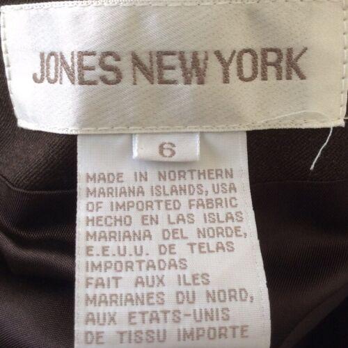 York New Nwt taglia donna Brown Ret Giacca 6 Jones 199 Blend da Giacca Laine tREwqvqd