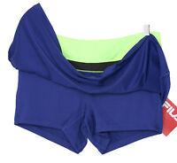 New Womens Fila Skort Skirt & Zip Pocket Golf Fitness Tennis Black S L XL XXL