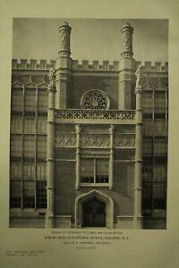 The American Architect Antique Vtg Old Architecture Arts Magazine Feb 5 1926 Ebay