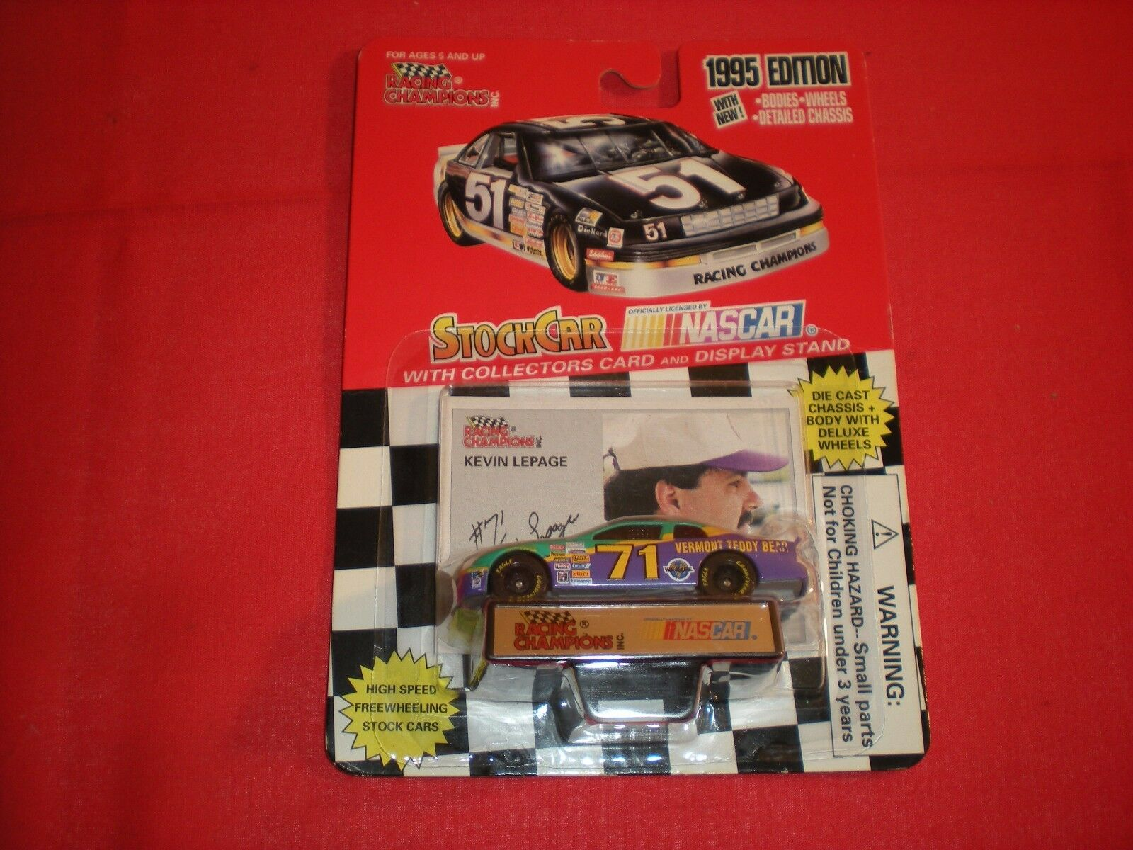 RACING CHAMPIONS KEVIN LEPAGE 1 64 SCALE DIE CAST CAR