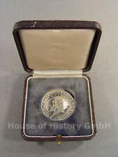97989, Silberne Meisterschafts Medaille des Deutscher Fechter Bund, Sep. 1955