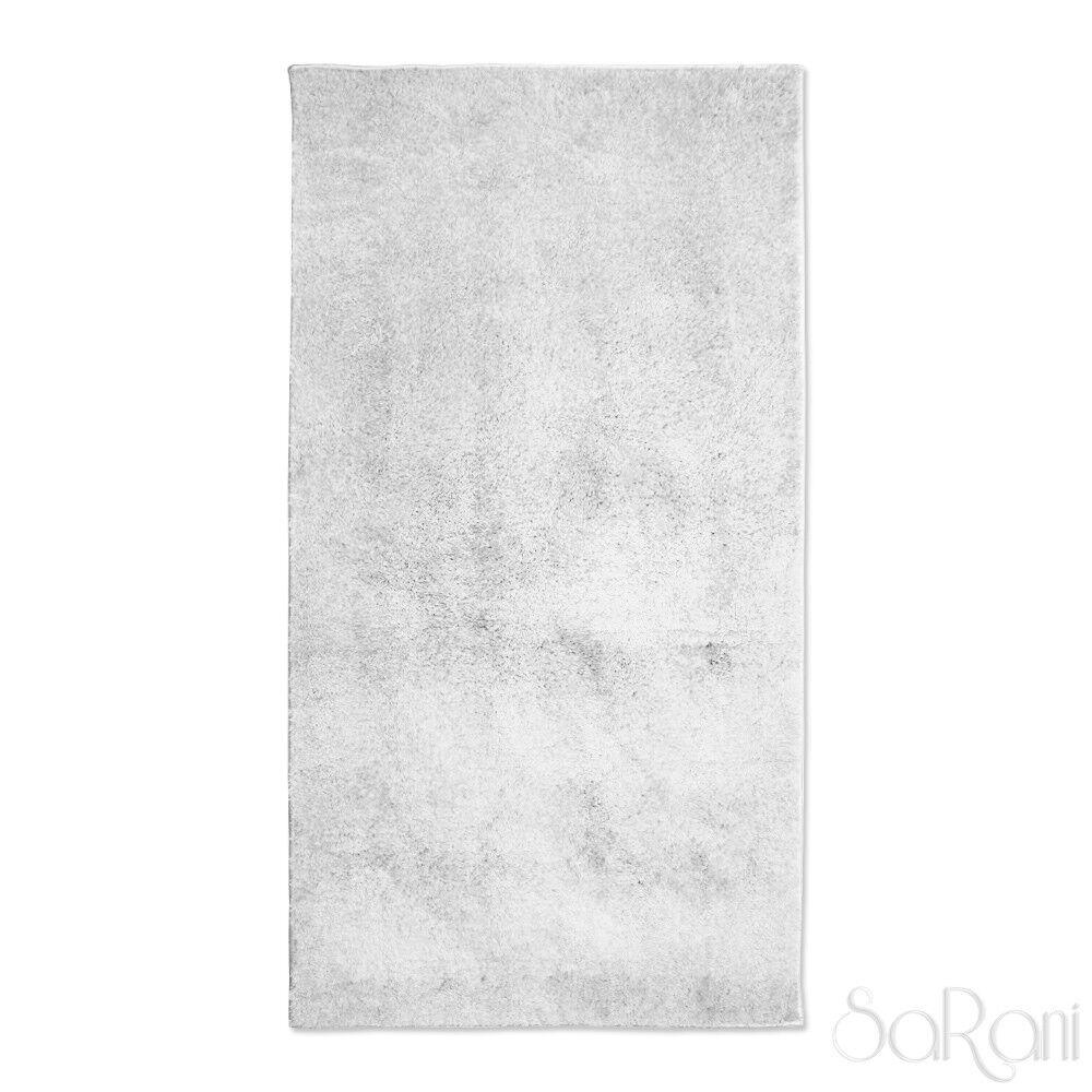 Tapis Moderne Couchage Court Mou Weiß Salon Tapis Chevet 80x150 cm Sarani