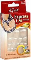 Kiss Express On Toenails 24 Ea (pack Of 8) on sale