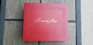 45 RPM Record Storage Albums-Holds 24 Records