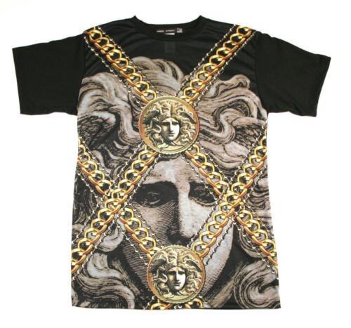 Mens Sublimation à manches courtes T-shirt guépard cleoptra lepards Cali SWAG Medusa
