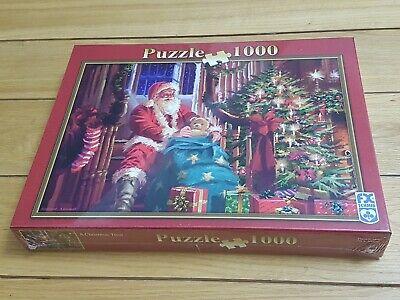 """""""un Regalo Di Natale"""" Puzzle 1000 Pezzi 70 X 50 Cm-f X Schmid-nuovo Di Zecca-mostra Il Titolo Originale"""