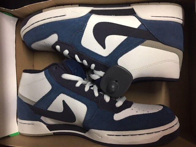 NIKE Renzo Mid NUOVO High Hi gr:42, 5 us:9 Mogan Renzo 407938-400 Sneaker Scarpe