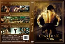 Ong Bak Trilogy 3 Movie Collection DVD, English Language, USA Shipping