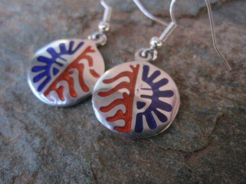 Hopi Style Earrings Made by Artesanas Campesinas in Mexico Fair Trade NEW e1024