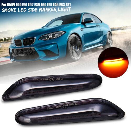 For BMW E82 E88 E60 E61 E90 E91 E92 E46 LED Side Marker Light Turn Signal Bulbs