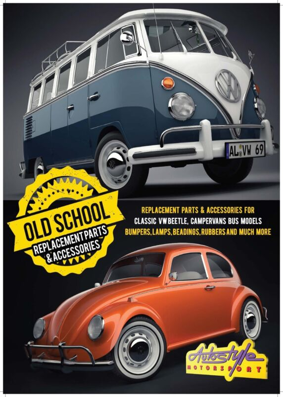 AIRCOOLED Replacement parts and accessories for classic VW Beetle, campervan bus models, old school