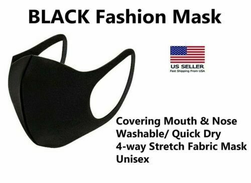 Set of 3 Polyester Cooling Cycling Running Face Mask Face Cover Unisex Fits Snug