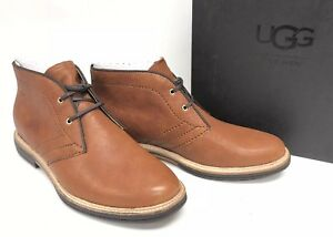 98e44e061e0 Details about Ugg Australia Dagmann Leather Mens Shoes Chukka Lace Up Ankle  Boot 1094350 Tan