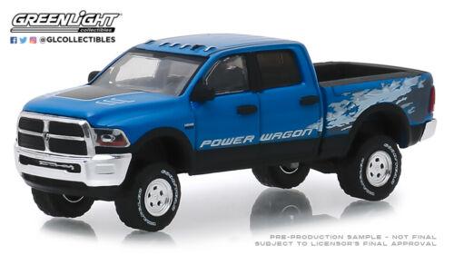 Blue Streak Pearlcoat 29983 GreenLight 1//64 2016 Dodge Ram 2500 Power Wagon