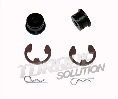 TORQUE SOLUTION SHIFTER CABLE BUSHINGS MITSUBISHI GALANT VR4 1991 91