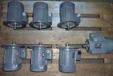 VEM Drehstrommotoren  0,75KW 1380 U.  0,55KW 895 U. Gebraucht