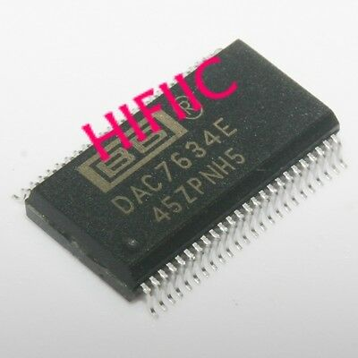 1PCS DAC7634E 16-BIT QUAD VOLTAGE OUTPUT DIGITAL-TO-ANALOG CONVERTER SSOP48