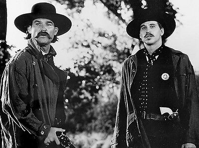 TOMBSTONE 1993 VAL KILMER KURT RUSSELL WESTERN MOVIE 8X10 GLOSSY PHOTO PICTURE