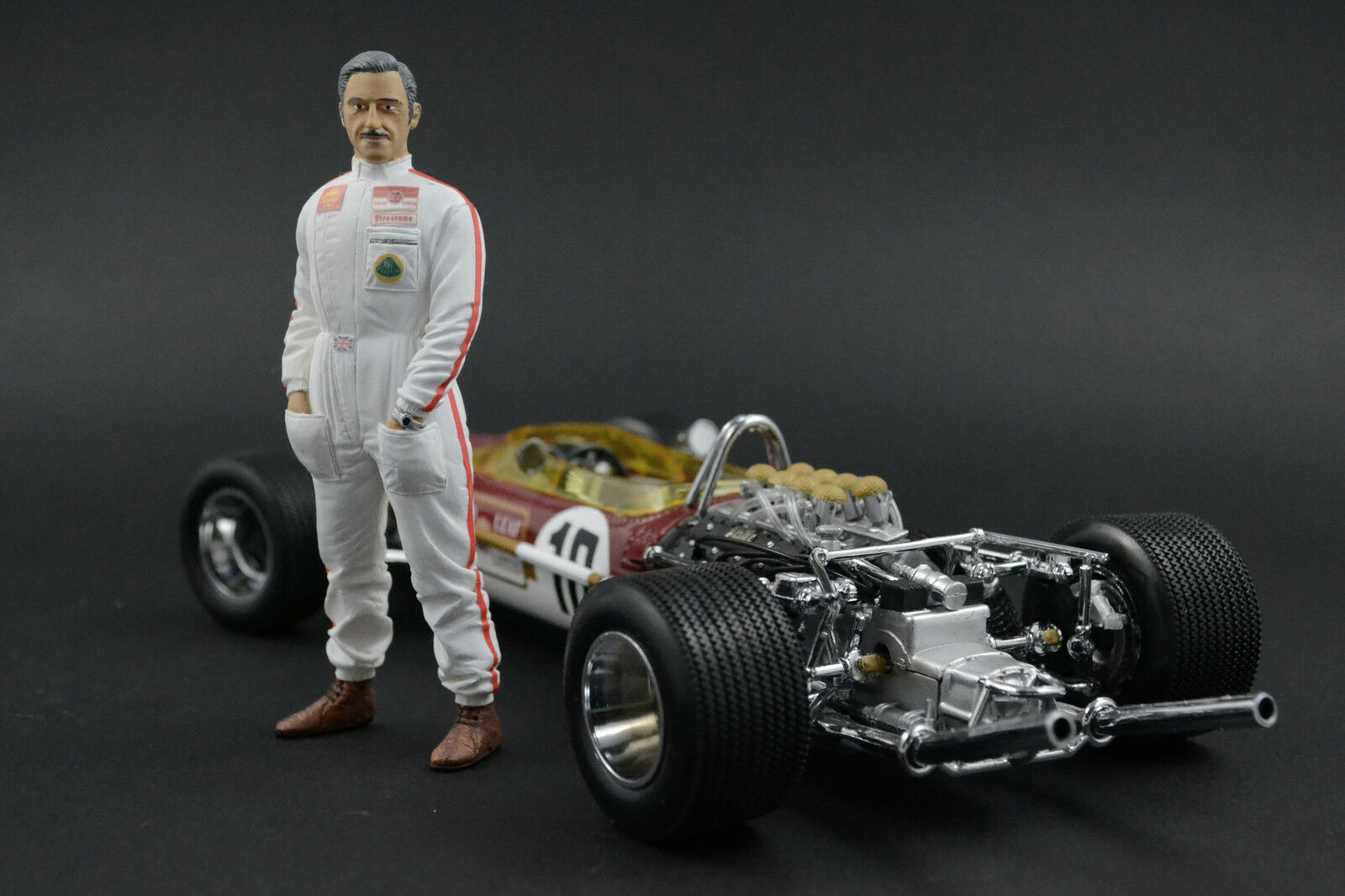 Graham hill figure for 1 18 lotus  quartzo very rar  au prix le plus bas