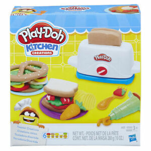 Play Doh Toaster Creations Play Set Play Dough Kitchen Creations Playset Toy Ebay