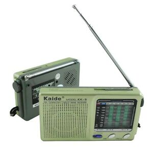 Radio-9-Band-Weltempfaenger-Tragbares-Taschenradio-Mini-Pocketradio