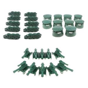 10xKinder Military Sand Szene Spielzeug Zubehör Simulation Doppelhaken Zaun ZP