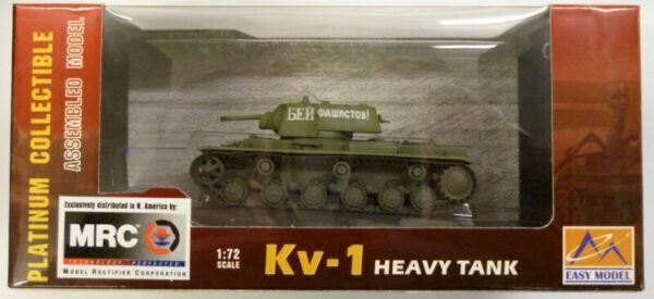 MRC 1//72 KV-1 Heavy Tank 1942 Russian Army # 708 Built Up 36291